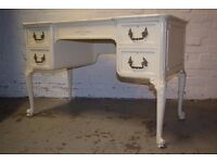Painted Antique Dressing Table (DELIVERY AVAILABLE)