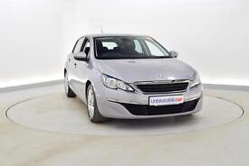 PEUGEOT 308 1.6 HDi 92 Active 5dr (grey) 2014