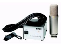 Affordable, AS NEW condenser mic! Rode NTK ONLY £270 ONO
