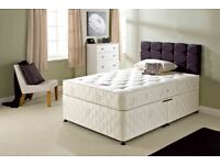 🔰🔰 CHEAPEST PRICE EVER🔰🔰Double, Small double & King Size Divan Bed with Wide Range of Mattresses