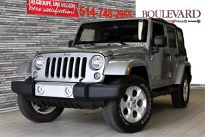 2014 Jeep WRANGLER UNLIMITED SAHARA 2 TOIT GPS SIEGES CHAUFFANTS