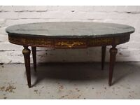 marble coffee table (DELIVERY AVAILABLE)