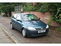 30 day Gurantee - Vauxhall Corsa 1.4 Automatic - 5 door - low mileage - new MOT - main dealer PX