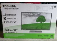 "TOSHIBA 32"" HD TV 32E2533D BRAND NEW IN SEALED BOX"