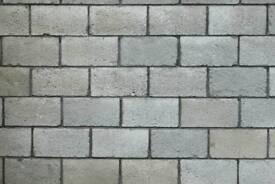 Bricklayer. Landscaper.Builder. construction