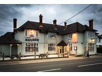 Bar supervisor required for immediate start. The Anchor, Ham Green, Bristol. 30+ hours per week