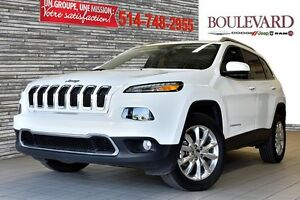 2016 Jeep Cherokee LIMITED V6 CUIR TOIT PANO 4X4