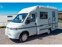 Autocruise Starfire, 1998, 2 Berth, 1.9TD showing just 46,800 miles