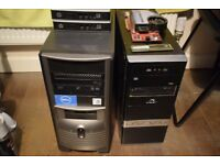 PC towers Computer HP Dell Job Lot x4