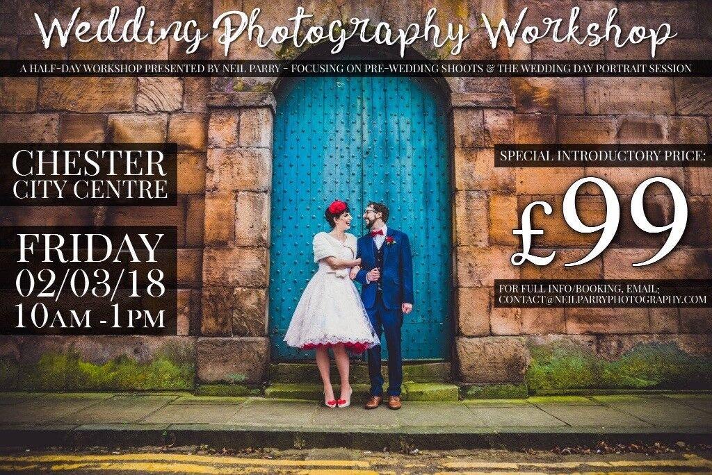 99 WEDDING PHOTOGRAPHY WORKSHOP