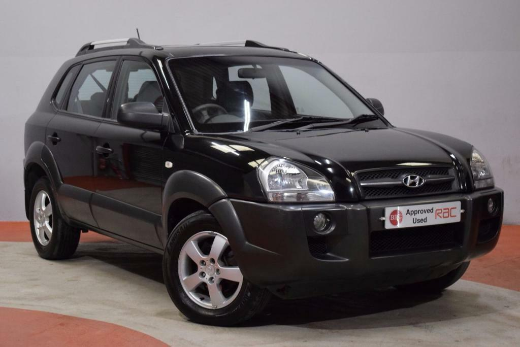 Hyundai Tucson 2 0 Gsi Crtd 4wd 5d 138 Bhp Black 2008 In Newtownards County Down Gumtree