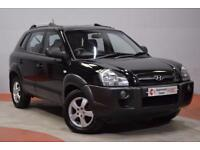 HYUNDAI TUCSON 2.0 GSI CRTD 4WD 5d 138 BHP (black) 2008