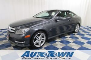 2012 Mercedes-Benz C-Class C350/ACCIDENT FREE/NAV/SUNROOF/LOADED