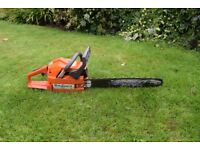 husqvarne chain saw 36 air injection heavy duty