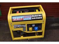 SEALEY GENERATOR POWER PRODUCTS GG 2800 11O V 230 V