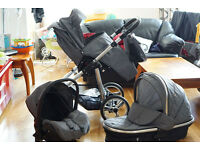Venicci Special Edition - 3-in-1 travel system(Pram/Pushchair/CarSeat)