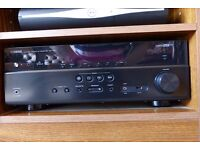 Yamaha RX-V577 AV Receiver Black 7.2-channel Surround Sound Home Cinema Wi-Fi Built-in Networkable