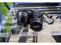 Nikon Coolpix P100 10.3 mega pixel digital camera in as new condition