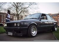 1.6 converted to a 2.5 Classic E30 with loads of extras grab a bargain car runs sweet