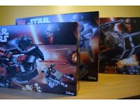 3 amazing lego star wars sets for sale 75145,75147 and 75150.