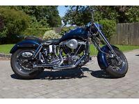 custom 1977 Harley Davidson FXE Shovelhead