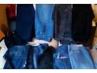 Ladies jeans x10