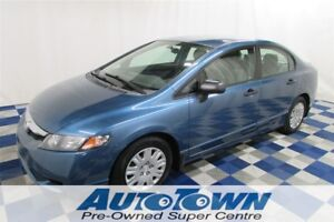 2009 Honda Civic DX/AC/ONE OWNER/LOW KM/GREAT PRICE!!