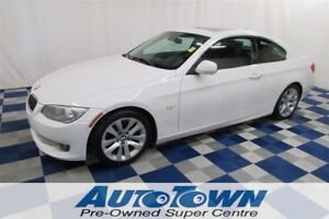 2011 BMW 328 i/COUPE/SUNROOF/LEATHER/ACCIDENT FREE