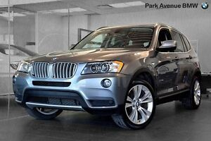 2014 BMW X3 xDrive35i // NAVIGATION + CAMERA + RADARS