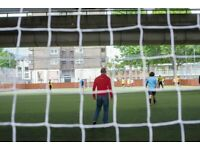 Casual 6-a-side footy at Westway Sports Centre. Every Wednesday!