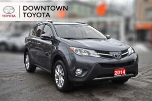2014 Toyota RAV4 LIMITED AWD, VERY LOW KMS,TECHNOLOGY PACKAGE