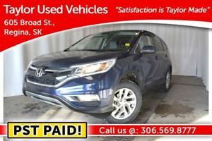 2015 Honda CR-V EX-L pst paid