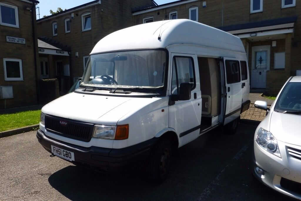 LDV Campervan 2001 For Sale 2 Seater, 10 Months MOT 2beds,stove,toilet,sink lots of storage space