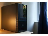 GAMING PC: INTEL Core i5-3570K/GTX680/120GB SSD+500GB HDD/8GB RAM in CoolerMaster Silencio 550 Case