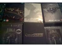 Game of thrones dvd boxsets (seasons 1-4)