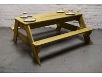 kids size picnic bench (DELIVERY AVAILABLE)