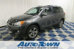 2010 Toyota RAV4 Sport AWD/ACCIDENT FREE/SUNROOF/ONE OWNER