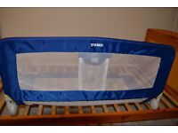 Tomy blue children's bed guard