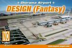Diorama Airport producten 1:500 1:400 1:200
