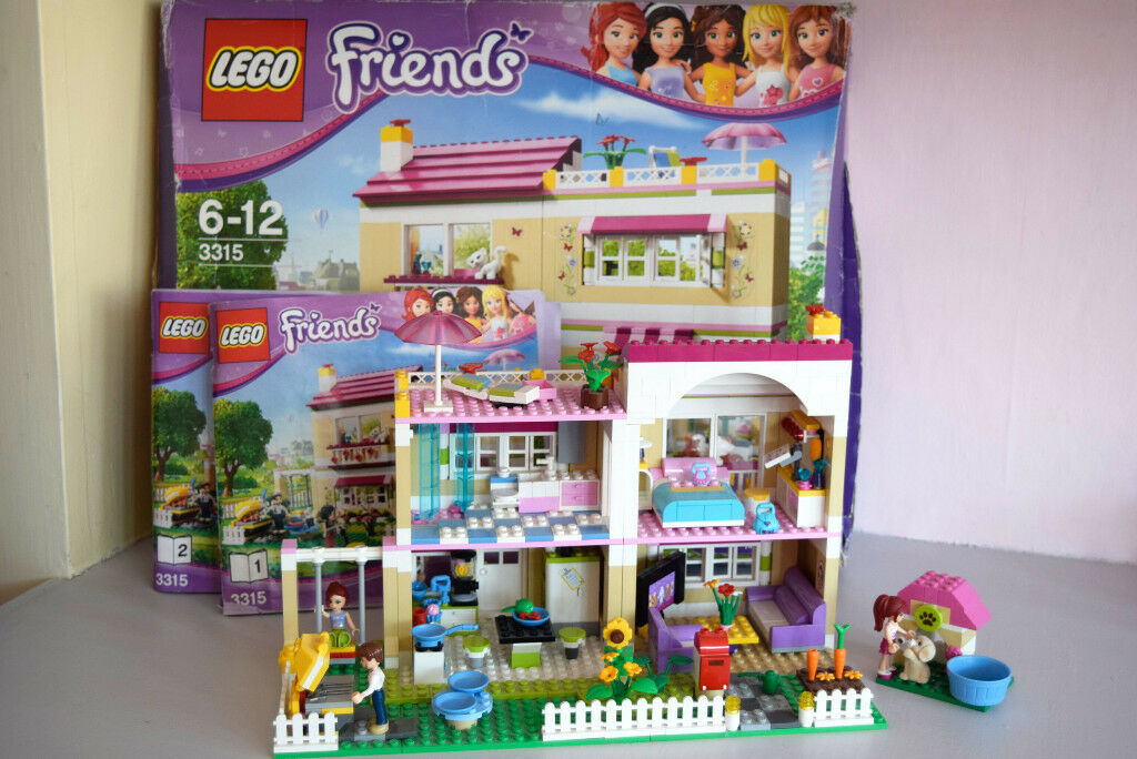 Olivias House Lego Friends 3315 Excellent Condition Box