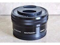 Sony 16-50mm E-Mount Zoom Lens - £100