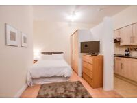 FEEL THE VIBE, LIVE CENTRAL LONDON! MODERN NEW STUDIO- AMAZING LOCATION- ALL INC - SINGLE or COUPLE