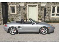 Porsche Boxster, convertible, px or swap for Range Rover or Harley.