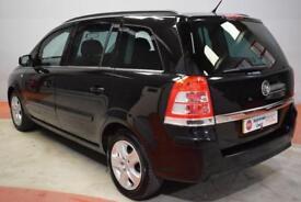 VAUXHALL ZAFIRA 1.7 EXCLUSIV CDTI ECOFLEX 5d 108 BHP (black) 2011