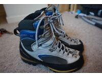 Scarpa Freney XT boots, size 8