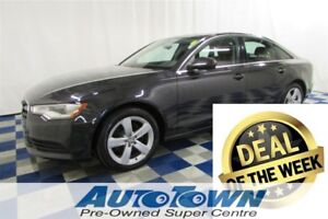 2013 Audi A6 2.0T Premium AWD/ACCIDENT FREE/NAV/SUNROOF/LEATHER