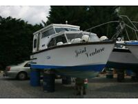 Bargain A Lovely Boat. 23ft Harrier 700 Twin Engine Cabin Cruiser