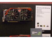 Nvidia GTX 780 Gaming Graphics Card PC