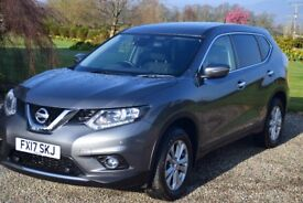 Nissan X-trail 1.6 DCI Accenta , 17 plate, Very Low Mileage