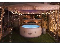 Hot Tub Hire - £50 a night - single nights available